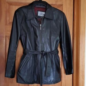Wilson's Womens Leather Jacket, Sz. Med. W/liner